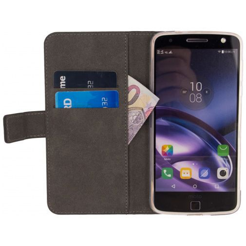 Mobilize Classic Wallet Book Case Black Motorola Moto Z2 Force