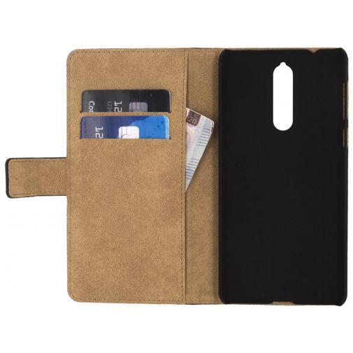 Produktimage des Mobilize Classic Wallet Book Case Schwarz Nokia 8