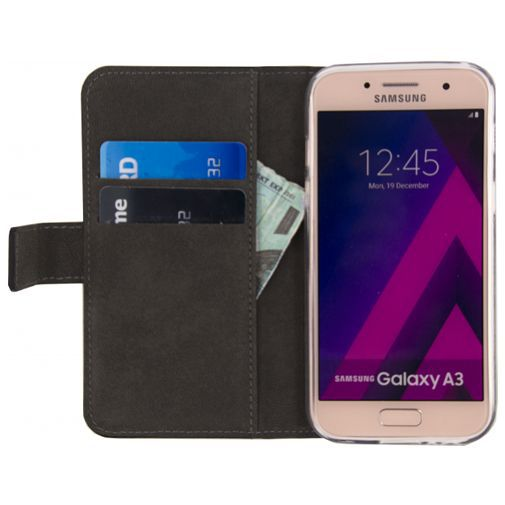Productafbeelding van de Mobilize Classic Wallet Book Case Black Samsung Galaxy A3 (2017)