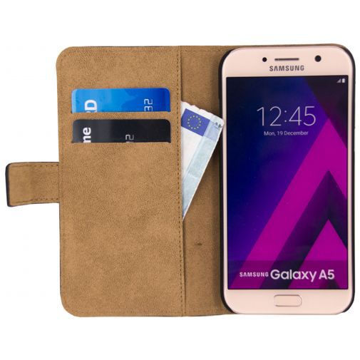 Productafbeelding van de Mobilize Classic Wallet Book Case Black Samsung Galaxy A5 (2017)