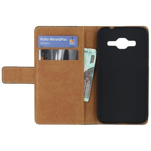 Productafbeelding van de Mobilize Classic Wallet Book Case Black Samsung Galaxy Core Prime (VE)
