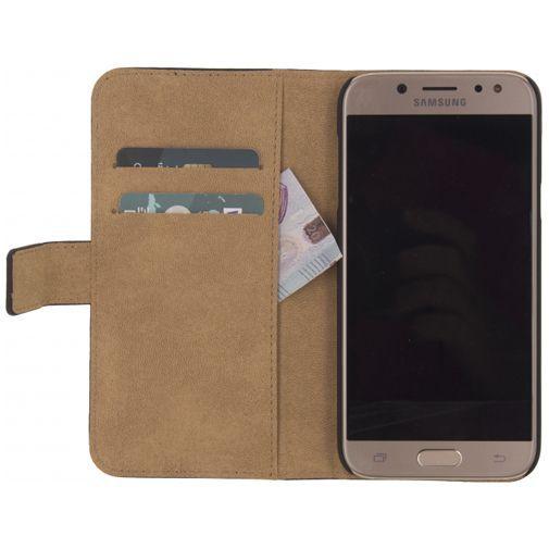 Productafbeelding van de Mobilize Classic Gelly Wallet Book Case Black Samsung Galaxy J3 (2017)