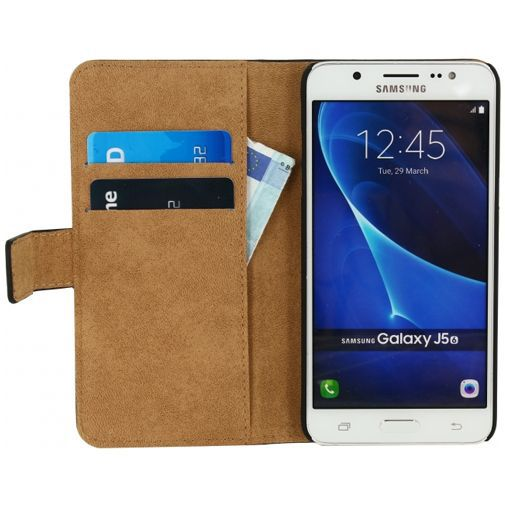 Productafbeelding van de Mobilize Classic Wallet Book Case Black Samsung Galaxy J5 (2016)