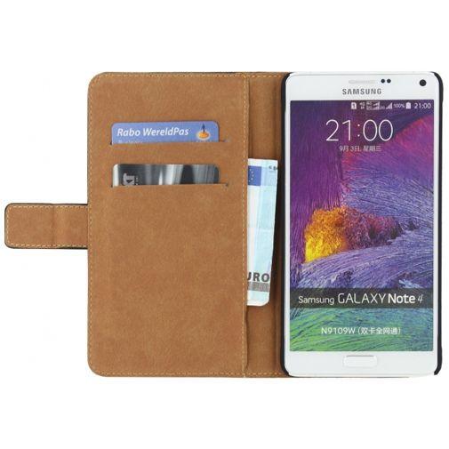 Productafbeelding van de Mobilize Classic Wallet Book Case Black Samsung Galaxy Note 4