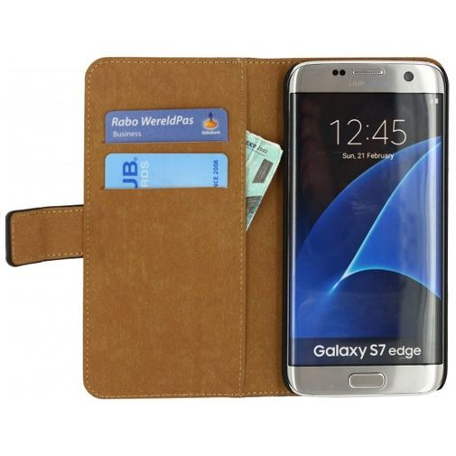 Productafbeelding van de Mobilize Classic Wallet Book Case Black Samsung Galaxy S7 Edge