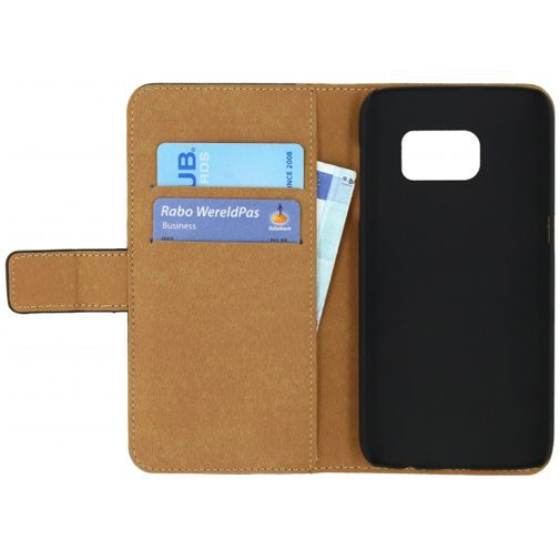 Productafbeelding van de Mobilize Classic Wallet Book Case Black Samsung Galaxy S7