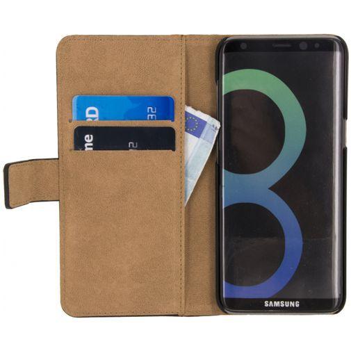 Productafbeelding van de Mobilize Classic Wallet Book Case Black Samsung Galaxy S8+