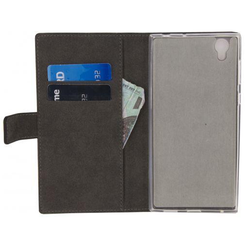 Productafbeelding van de Mobilize Classic Wallet Book Case Black Sony Xperia L1