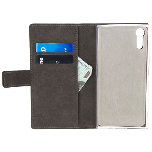 Productafbeelding van de Mobilize Classic Wallet Book Case Black Sony Xperia XZs