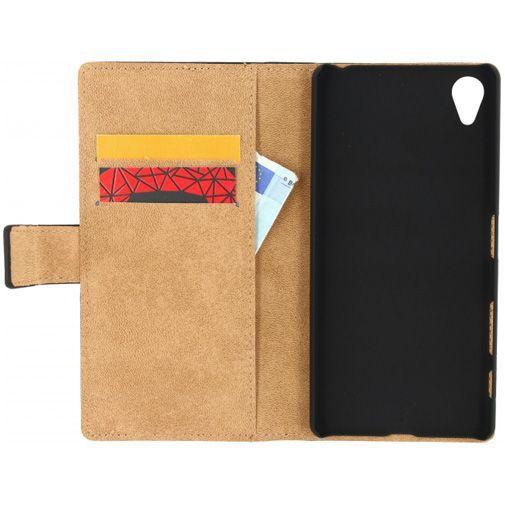 Productafbeelding van de Mobilize Classic Wallet Book Case Black Sony Xperia X
