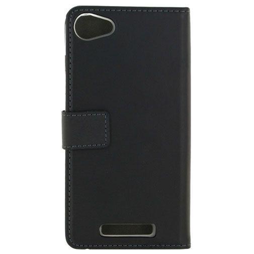 Productafbeelding van de Mobilize Classic Gelly Wallet Book Case Black Wiko Jerry