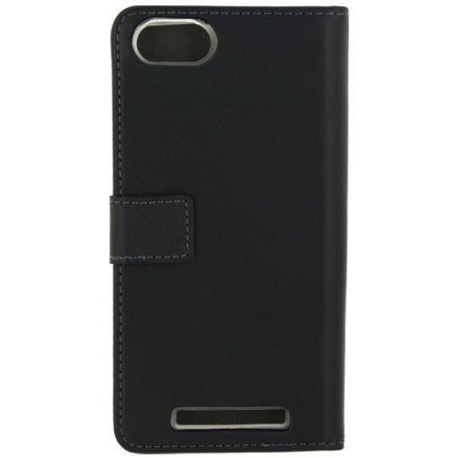Productafbeelding van de Mobilize Gelly Wallet Book Case Black Wiko Lenny 3