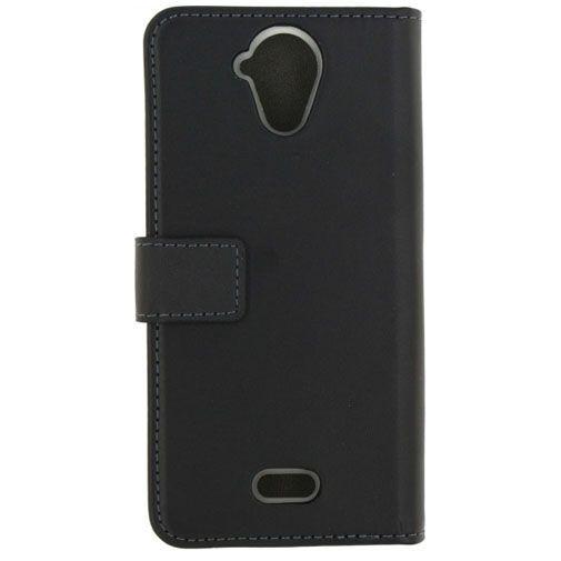 Productafbeelding van de Mobilize Classic Gelly Wallet Book Case Black Wiko Ufeel Lite