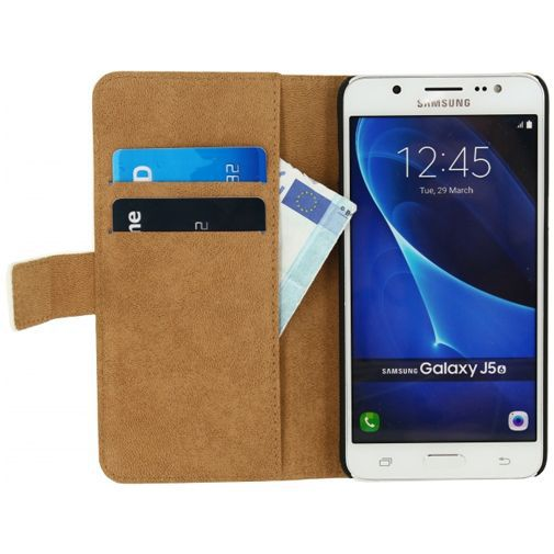 Productafbeelding van de Mobilize Classic Wallet Book Case White Samsung Galaxy J5 (2016)