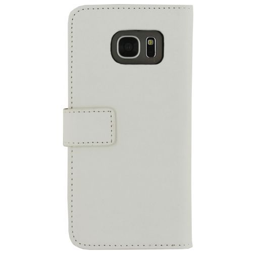 Productafbeelding van de Mobilize Classic Wallet Book Case White Samsung Galaxy S7 Edge