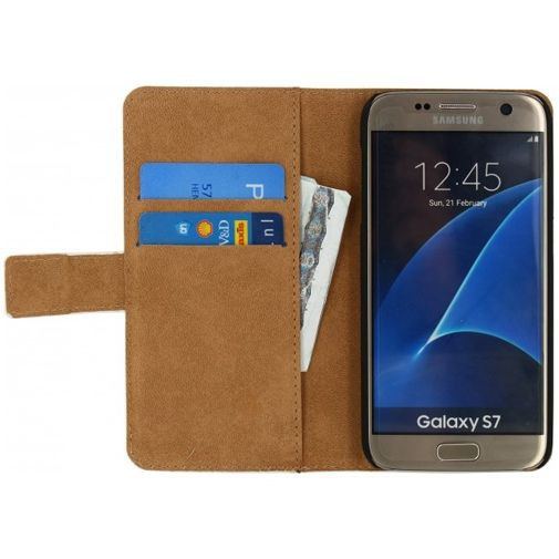 Productafbeelding van de Mobilize Classic Wallet Book Case White Samsung Galaxy S7