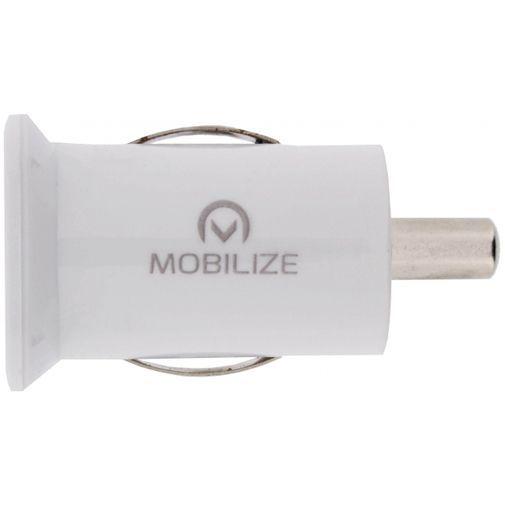 Productafbeelding van de Mobilize Dual USB Autolader 3.1A White