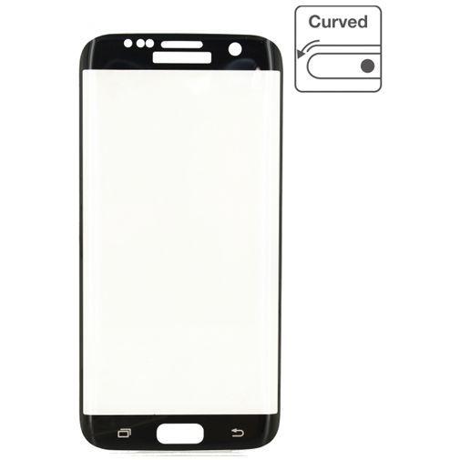 Produktimage des Mobilize Edge-To-Edge Glas Displayschutzfolie Samsung Galaxy S7 Schwarz