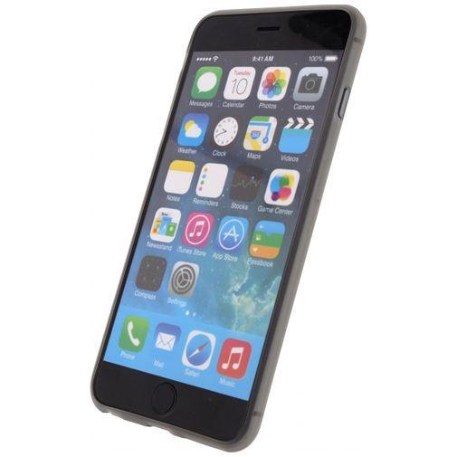 Productafbeelding van de Mobilize Gelly Case Ultra Thin Smokey Grey Apple iPhone 6 Plus/6S Plus