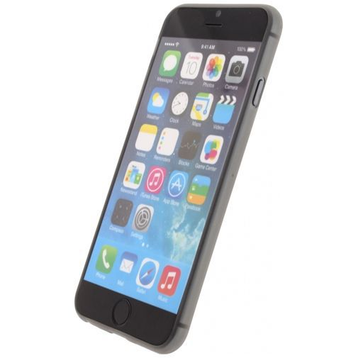 Productafbeelding van de Mobilize Gelly Case Grey Apple iPhone 6/6S