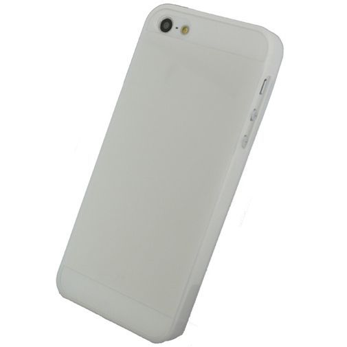 Productafbeelding van de Mobilize Gelly Case Milky White Apple iPhone 5/5S/SE