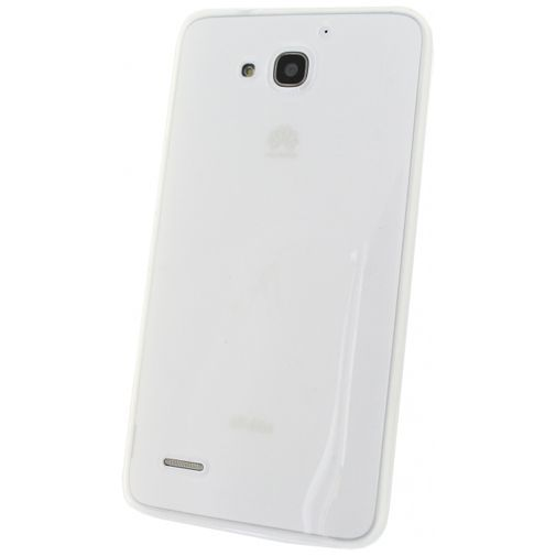 Productafbeelding van de Mobilize Gelly Case Milky White Huawei Ascend G750