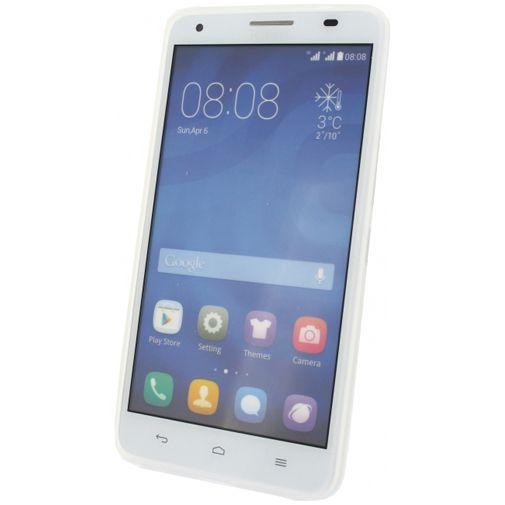 Productafbeelding van de Mobilize Gelly Case Milky White Huawei Ascend G750