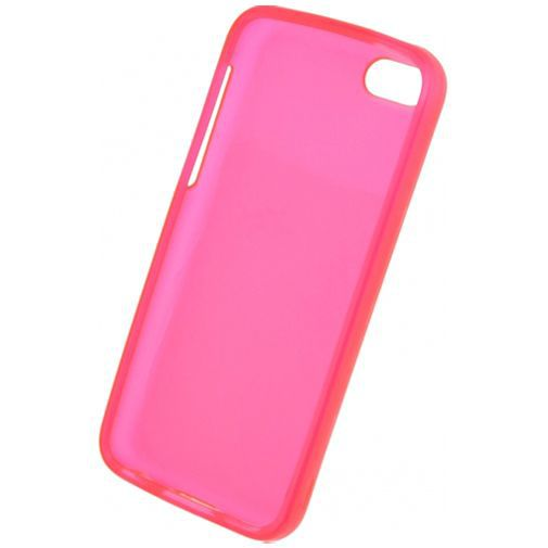 Productafbeelding van de Mobilize Gelly Case Transparent Pink Apple iPhone 5C