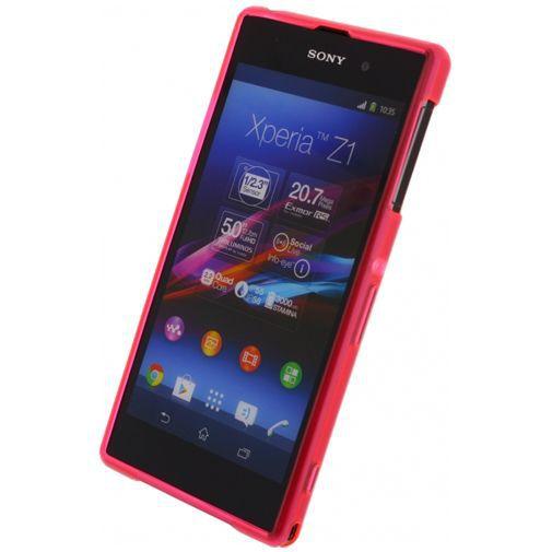 Productafbeelding van de Mobilize Gelly Case Pink Sony Xperia Z1