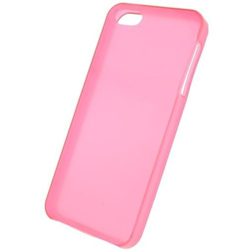 Productafbeelding van de Mobilize Gelly Case Pink Transparant Apple iPhone 5/5S/SE