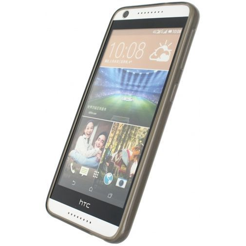 Productafbeelding van de Mobilize Gelly Case Smokey Grey HTC Desire 626