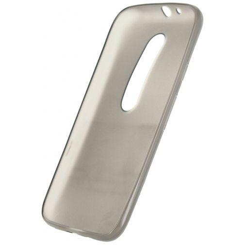 Productafbeelding van de Mobilize Gelly Case Smokey Grey Motorola Moto G (3rd Gen)