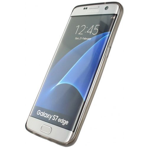Productafbeelding van de Mobilize Gelly Case Smokey Grey Samsung Galaxy S7 Edge