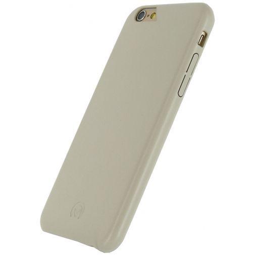 Productafbeelding van de Mobilize Leather Case Creamy White Apple iPhone 6/6S