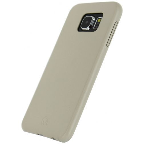 Productafbeelding van de Mobilize Leather Case Creamy White Samsung Galaxy S6