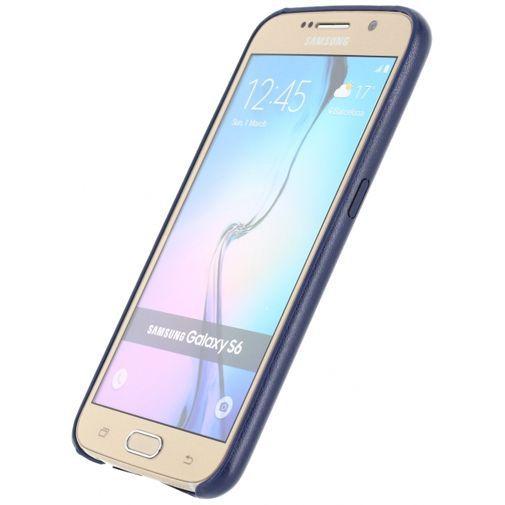 Productafbeelding van de Mobilize Leather Case Dark Blue Samsung Galaxy S6