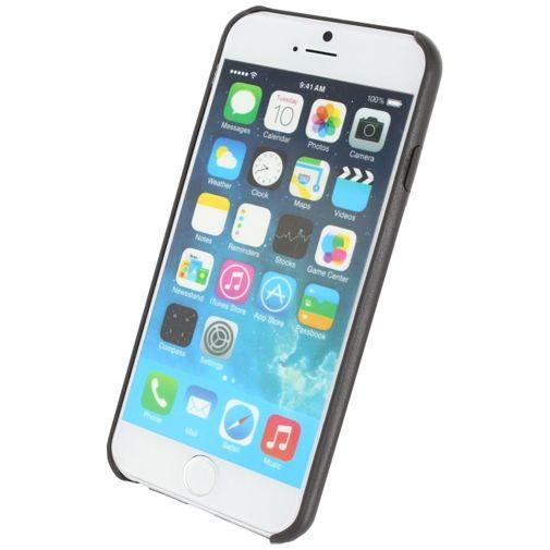 Productafbeelding van de Mobilize Leather Case Grey Apple iPhone 6/6S