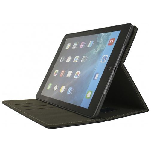 Productafbeelding van de Mobilize Premium Folio Case Black Apple iPad 2017/iPad 2018