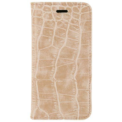 Mobilize Premium Magnet Book Case Alligator Coral Pink Apple iPhone 6/6S