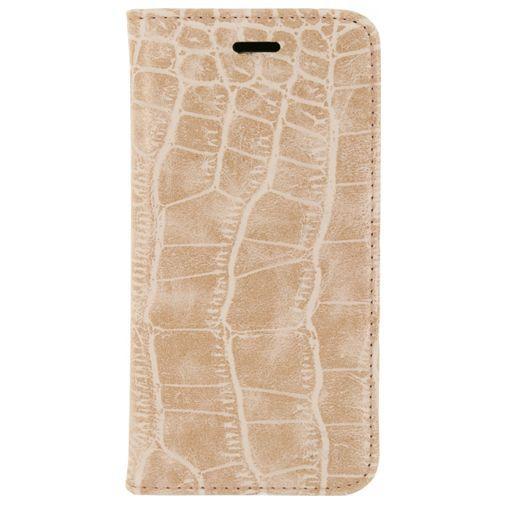 Productafbeelding van de Mobilize Premium Magnet Book Case Alligator Coral Pink Samsung Galaxy S6