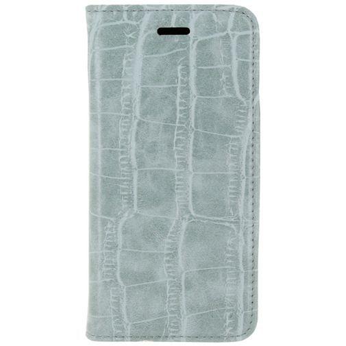 Productafbeelding van de Mobilize Premium Magnet Book Case Alligator Mystic Blue Apple iPhone 6/6S