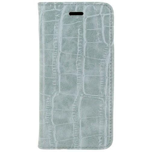 Productafbeelding van de Mobilize Premium Magnet Book Case Alligator Mystic Blue Samsung Galaxy S6