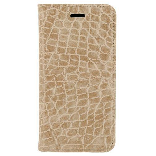 Productafbeelding van de Mobilize Premium Magnet Book Case Alligator Peanut Brown Samsung Galaxy S7 Edge