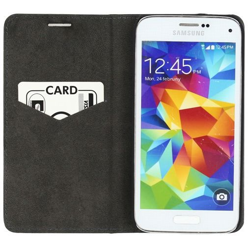 Productafbeelding van de Mobilize Premium Magnet Book Case Black Samsung Galaxy S5 Mini