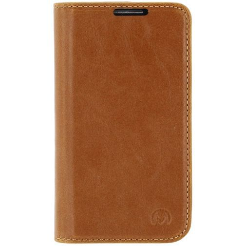 Mobilize Premium Magnet Book Case Brown Samsung Galaxy S4 Mini