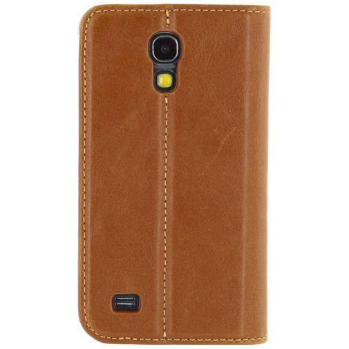 Productafbeelding van de Mobilize Premium Magnet Book Case Brown Samsung Galaxy S4 Mini