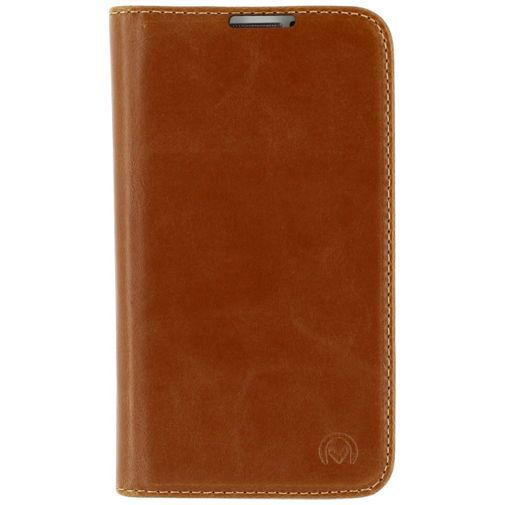 Productafbeelding van de Mobilize Premium Magnet Book Case Brown Samsung Galaxy S4