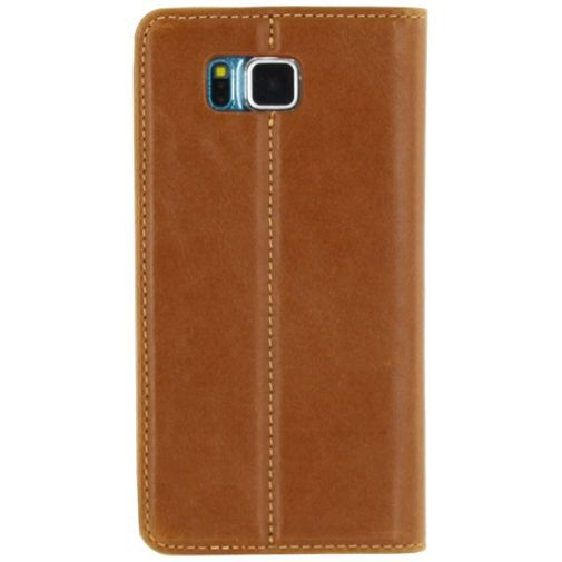 Productafbeelding van de Mobilize Premium Magnet Book Case Brown Samsung Galaxy S5 Mini