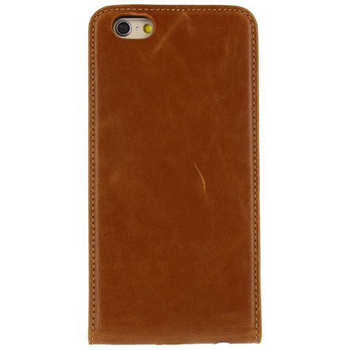 Productafbeelding van de Mobilize Premium Magnet Flip Case Brown Apple iPhone 6/6S