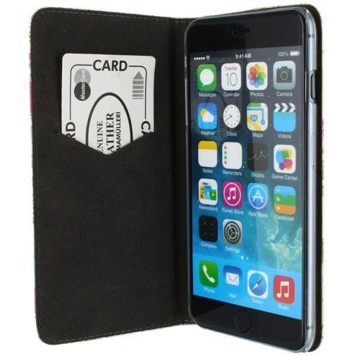 Productafbeelding van de Mobilize Premium Magnet Stand Wallet Book Case Cupid Apple iPhone 6 Plus/6S Plus